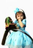 śliczna dziewczyna trochę Obraz Royalty Free