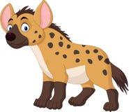 Śliczna hieny kreskówka ilustracja wektor