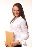 Młoda biznesowa kobieta Zdjęcia Royalty Free