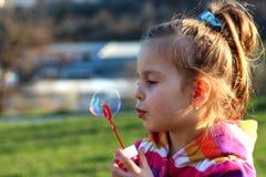 Śliczna mała dziewczynka Obrazy Royalty Free