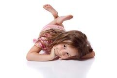 Śliczna mała dziewczynka Zdjęcie Royalty Free