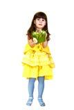 Dziewczyna z Easter królikiem Obrazy Stock