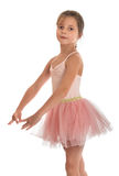 Śliczna mała gimnastyczka Zdjęcie Royalty Free