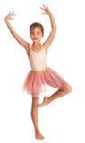 Śliczna mała gimnastyczka Obraz Royalty Free
