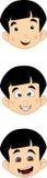 Śliczna Mała Młoda chłopiec głowa Zdjęcia Stock