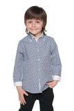 Śliczna mod potomstw chłopiec zdjęcia stock