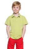 Śliczna mody chłopiec obraz royalty free