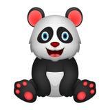 Śliczna niedźwiadkowa illustrationcute pandy ilustracja ilustracja wektor