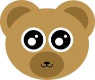Śliczna niedźwiedź głowa Zdjęcie Stock