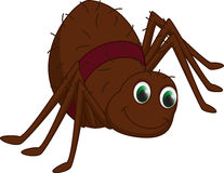 Śliczna pająk kreskówka Fotografia Stock