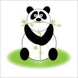 śliczna panda Obraz Royalty Free