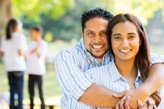 Śliczna para małżeńska fotografia stock