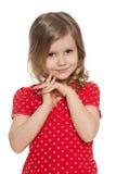 Śliczna preschool dziewczyna fotografia royalty free
