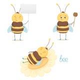 Śliczna pszczoła Zdjęcie Royalty Free