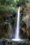 Śliczna siklawa w Alpujarra obrazy stock