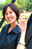 Śliczna tajlandzka dama Zdjęcie Stock