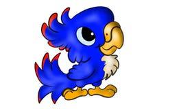 Śliczna zwierzęca papuga fotografia stock