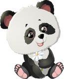 Śliczne panda niedźwiedzia ilustracje Zdjęcie Royalty Free