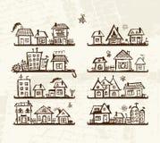 śliczne projekta domów półki kreślą twój