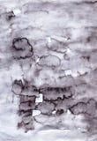 Ślicznego watercolour miękki szary abstrakt handcrafted tło dla d Obraz Stock