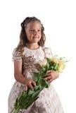 ślicznej dziewczyny fryzury mały pigtail obrazy royalty free
