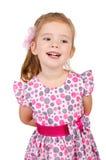 ślicznej dziewczyny mały ja target5371_0_ zdjęcia royalty free