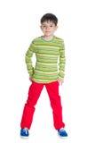 Śliczni chłopiec stojaki Zdjęcie Stock