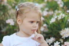 śliczni dziewczyny portreta potomstwa obraz royalty free
