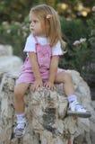 śliczni dziewczyny portreta potomstwa obraz stock