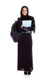 Muzułmański student collegu Fotografia Royalty Free