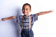 Śliczny afrykański dziecko w studiu Fotografia Royalty Free