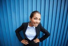 Śliczny bizneswoman fotografia stock
