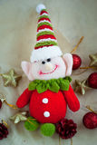 śliczny Boże Narodzenie elf Zdjęcie Stock