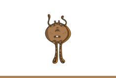 Śliczny brown potwora spęczenie Zdjęcie Stock