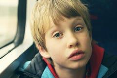 śliczny chłopiec portret zdjęcie royalty free