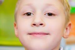 śliczny chłopiec portret Zdjęcia Royalty Free