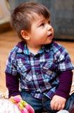 śliczny chłopiec preschool fotografia royalty free