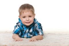 śliczny chłopiec preschool zdjęcie stock