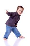 Chłopiec taniec obraz royalty free