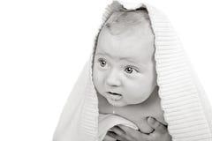śliczny dziecko kapiszon obrazy stock