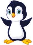 śliczny dziecko pingwin royalty ilustracja
