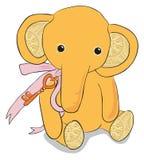 śliczny dziecko słoń Obraz Royalty Free