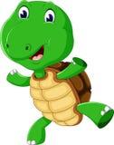 Śliczny kreskówka żółw Obrazy Stock