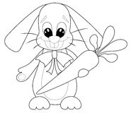 Kreskówka królik Zdjęcia Stock