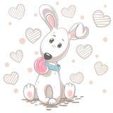 śliczny kreskówka pies Dziecko ilustracja ilustracji