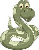 śliczny kreskówka wąż Zdjęcia Royalty Free