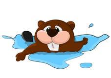 Śliczny kreskówka wektoru niedźwiedź Obraz Royalty Free