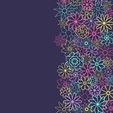 Śliczny Kwiecisty tło w małym kwiacie Ditsy druk najlepszego ściągania oryginalni druki przygotowywali teksturę Elegancki szablon Zdjęcia Royalty Free