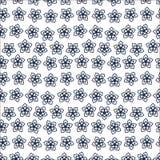 Śliczny Kwiecisty wzór w małym kwiacie Motywy rozpraszali przypadkowego tekstura bezszwowy wektor Elegancki tem_1 royalty ilustracja