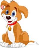 śliczny pies royalty ilustracja